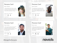 Inclusive Design in Action Persona Cards