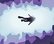 Gone Caving - Cave Diver