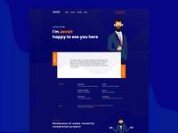 Javair | Personal web landing page