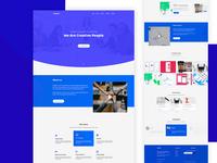 Twintech Agency - Landing Page Interface