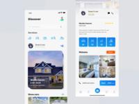Upcoming Rental App Feed & Booking Screen