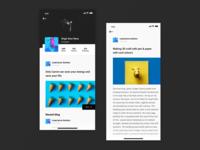 Social App | User profile screen| Iphonex