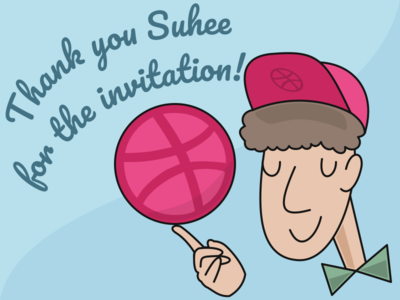 Hi Dribbble! Thank you Suhee for the invitation!