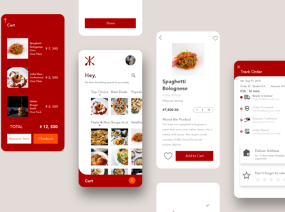 Capstone Mobile Food app: one of my highlights of 2019.