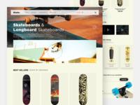 Skate. Webstore