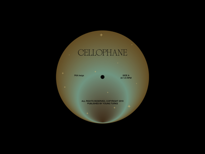 Cellophane Concept Work mindfulness typography