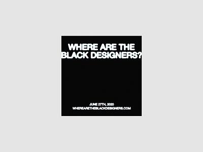 Where are the black designers? design typography graphic design