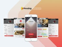 Housing APP UI Design
