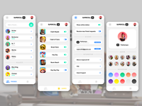 Supercell ID App Concept uix gaming games game supercell adobe xd ux uiux ui app photoshop design