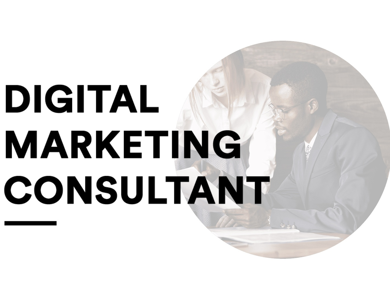 Digital Marketing Consultant Agency Web UI marketing digital digital marketing consultant