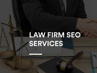 Law Firm SEO Services Website UI