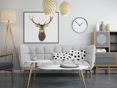 Wall Frames & Pillows Mockup Pack