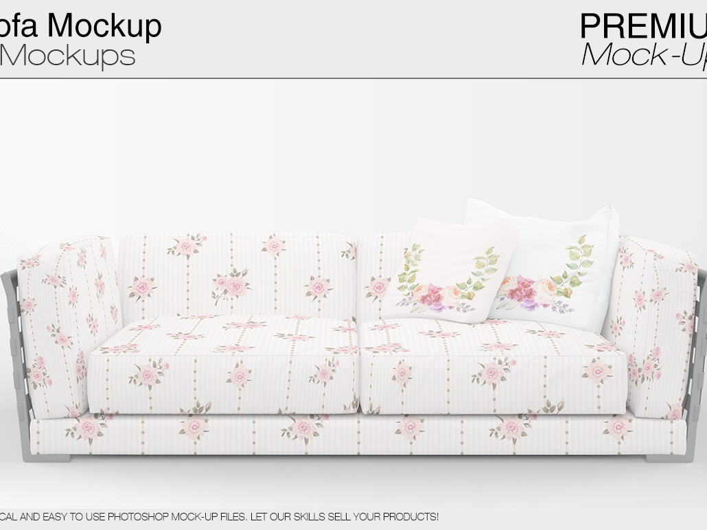 Stupendous Sofa Pillows Mockup Pack By Alexander On Dribbble Andrewgaddart Wooden Chair Designs For Living Room Andrewgaddartcom