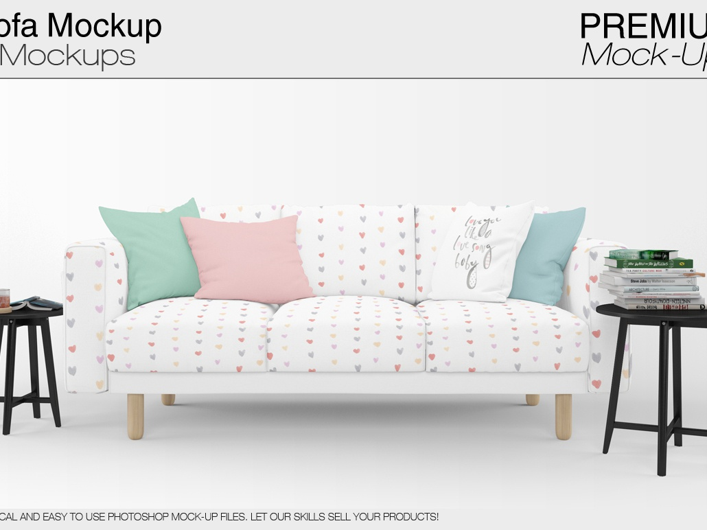 Enjoyable Sofa Pillows Mockup Pack By Alexander On Dribbble Andrewgaddart Wooden Chair Designs For Living Room Andrewgaddartcom