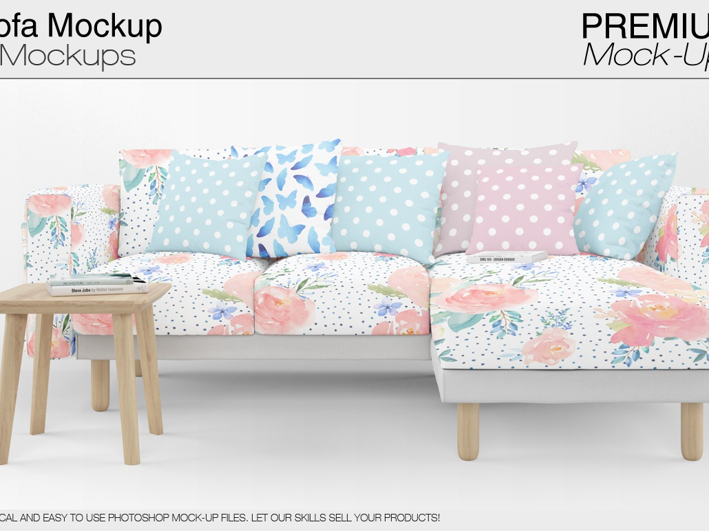 Peachy Sofa Pillows Mockup Pack By Alexander On Dribbble Andrewgaddart Wooden Chair Designs For Living Room Andrewgaddartcom