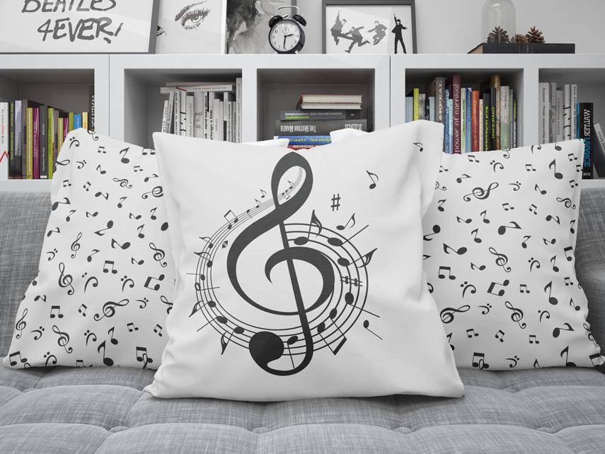Piping Pillow Mockup 30x50cm by Mockup5