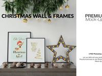 Christmas Frames & Wall Set