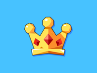 a little crown for game ui