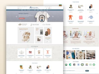 OrganicEra E-Commerce website design e-commerce shop e-commerce website e-commerce design e-commerce website web minimal designs designer flat typography ux ui design
