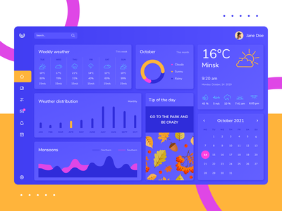 2021 vs 2019 weather widget weather web design webdesign trendy design trendy dashboad webdevelopment illustraion frontend ui design web graphic design ux ui interface design
