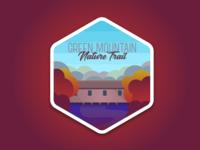 Green Mountain Sticker