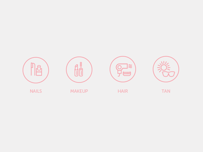 BeautyPal Icons