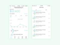iOS Organizer App Dashboard