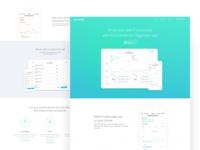 Organizer App Landing Page