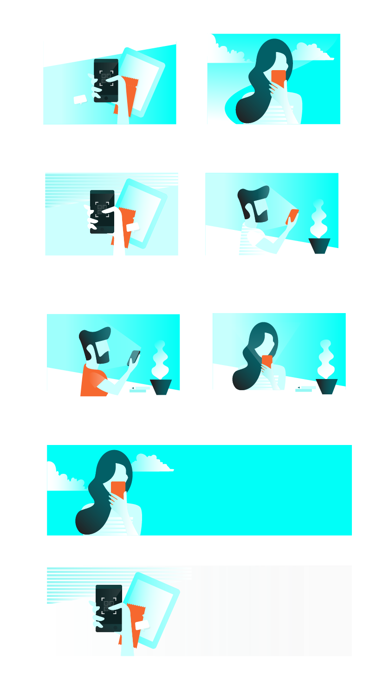 Illustrations exploration eb
