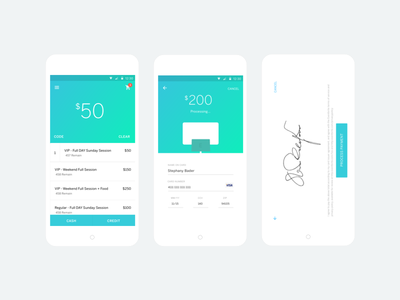 Sell Credit Card Organizer App material design ui tickets event credit card android app card cash sell