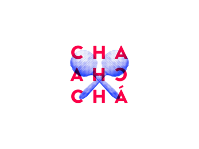 Logo Chachachá podcast design spanish website product design latinos ui