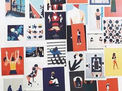 Illustrations Inspiration Board  illustrations inspiration board
