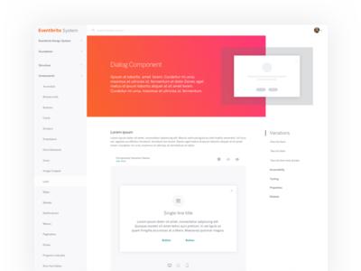 Design System Page Exploration