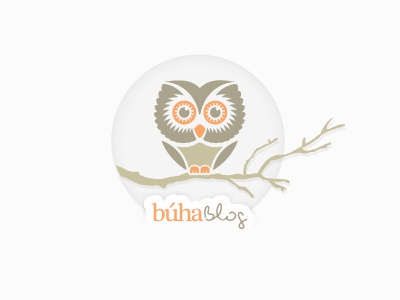 Buha Blog logo design branding brand identity lumen bigott venezuela visual identity identity brand logo olw blog color tree design animal