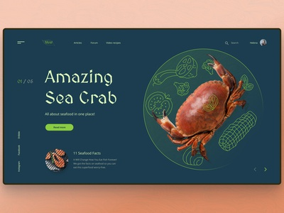 Amazing Sea Crab