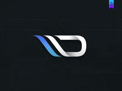 digital logo by vasil enev dribbble