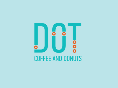 DOT Coffee and Donuts identity branding identity design coffee shop donut shop design logo branding