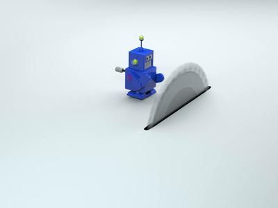 Robot vs Table Saw