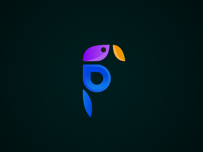 Parrot icon design bird marano parrot 2d vector logo flat icon