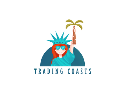 Trading Coasts blog logo
