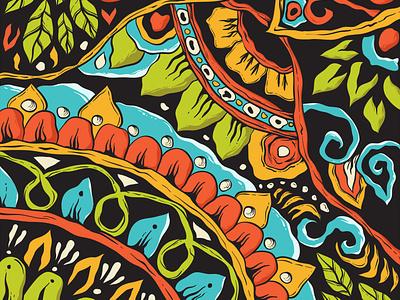 I found you zenart pattern background design artwork vector mandala illustration