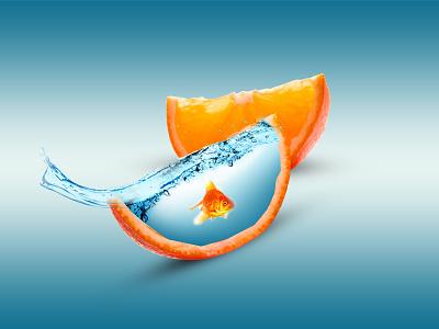 Orange Advertising ad ad design desiger logo identity graphic design brand flayer ad agency graphicdesigner branding ad banner photoshop icon animation design