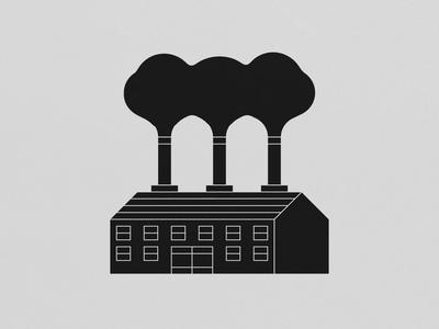 Brickworks animation 2d brickworks smoke factory joelehuquet animation illustration