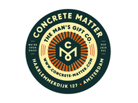 Concrete Matter Label.