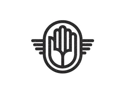 Logo Leftover identity logo black white