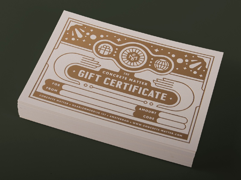 Giftcard dribbble