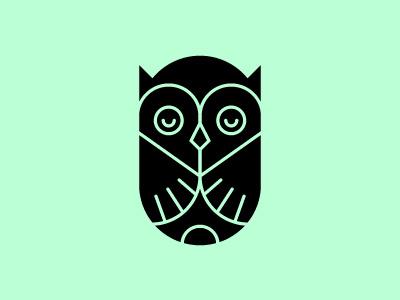 Sitting Low. illustration logo mark