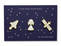 Space Pins Set