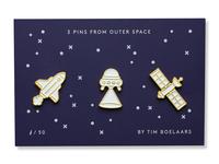 Space Pins Set