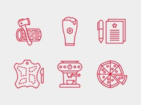 Build Conference Icons.